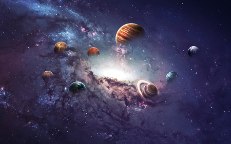 cluster of planets 2